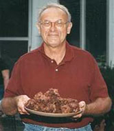 Carl Ziegler and his famous brownies